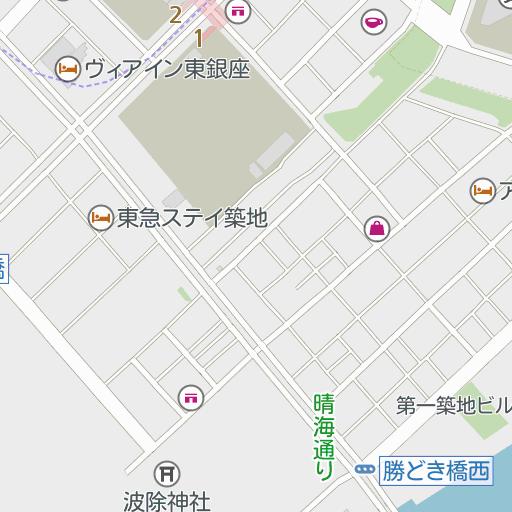 buy popular 399b4 0008a ブルガリジャパン株式会社銀座三越店(東京都)周辺の駐車場の地図 ...