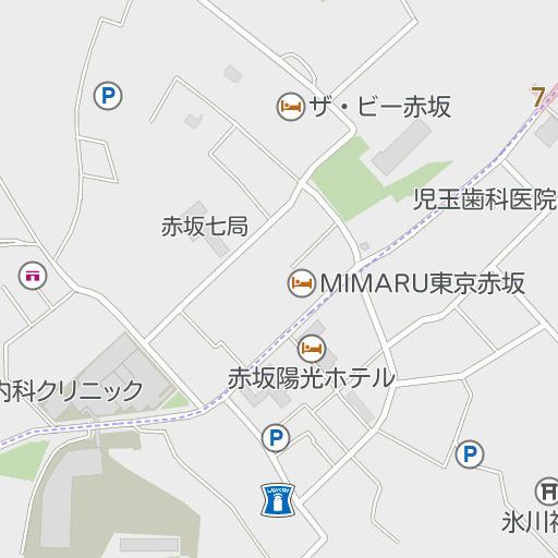 東京メトロ乃木坂駅外苑東通り方面改札 東京都 周辺の駐車場の地図