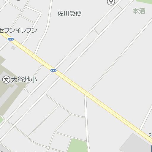 札幌市立大谷地小学校(北海道)周辺の駐車場の地図 | ドライビング ...