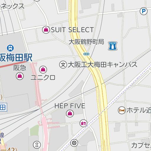 梅田 ロフト 駐 車場